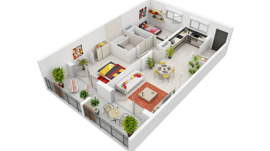 The Engineering Design company offers 3d rendering floor plan services.