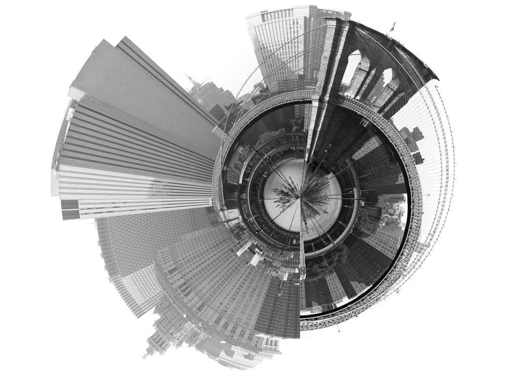 Architecture photomontage