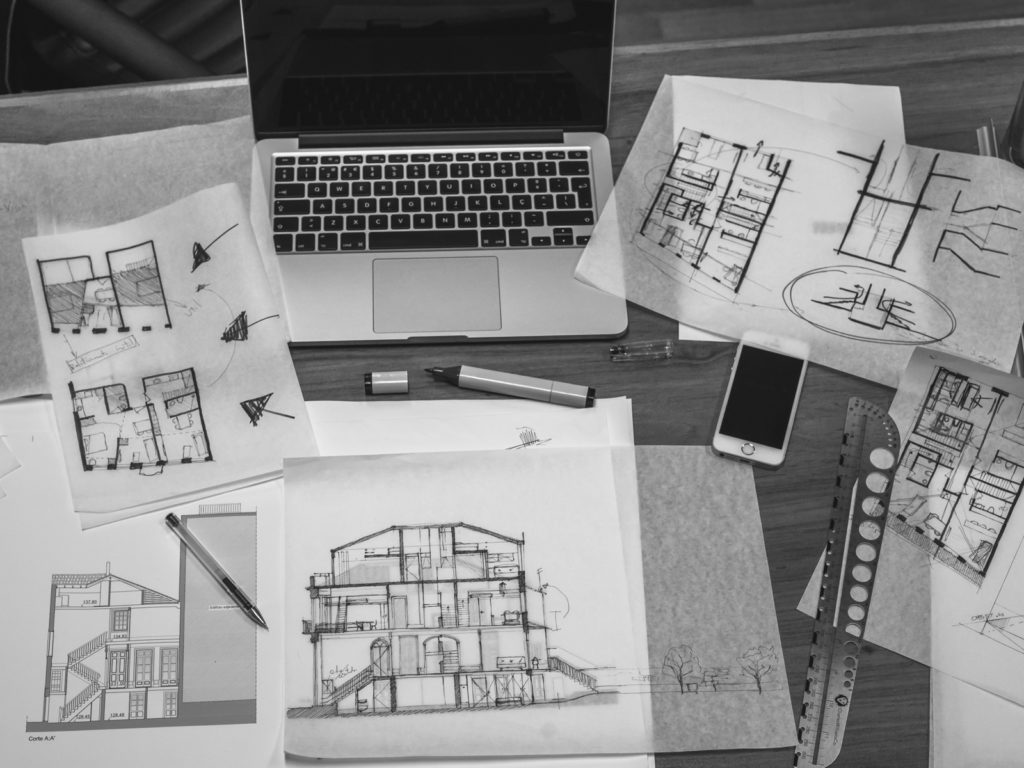 Three business development strategies with architectural for Architectural design services
