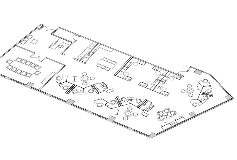 Before-3D floor Plan